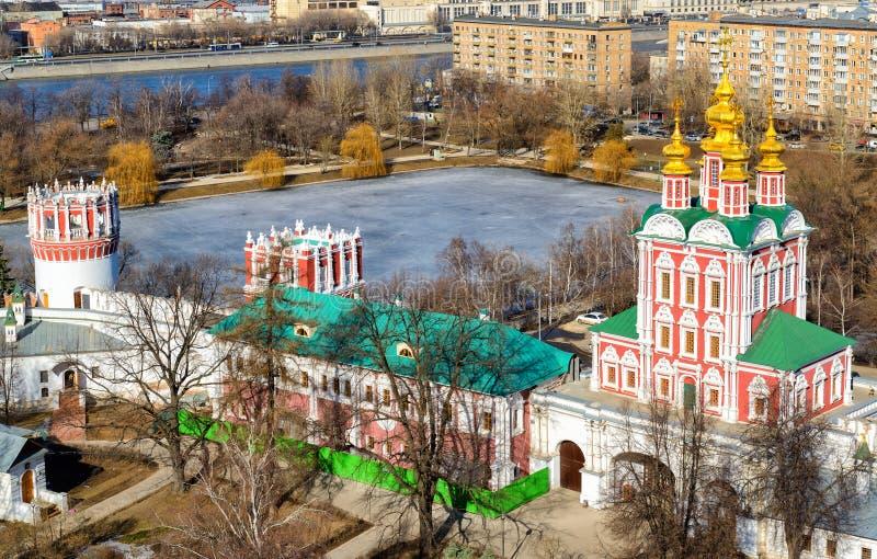 μονή Μόσχα novodevichy στοκ εικόνες