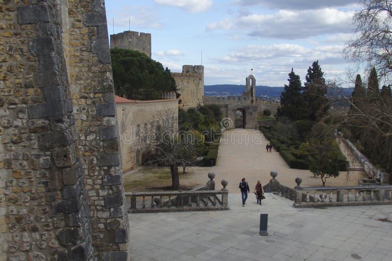 Μονή Χριστού Tomar Πορτογαλία στοκ φωτογραφίες με δικαίωμα ελεύθερης χρήσης