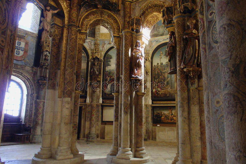 Μονή Χριστού Tomar Πορτογαλία στοκ εικόνες με δικαίωμα ελεύθερης χρήσης