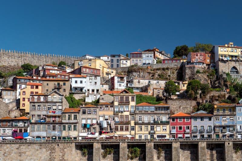 Μοναδική αρχιτεκτονική προκυμαιών του Πόρτο ` s, Πόρτο, Πορτογαλία στοκ εικόνες