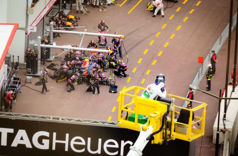 Μονακό GP το 2012 στοκ εικόνες με δικαίωμα ελεύθερης χρήσης