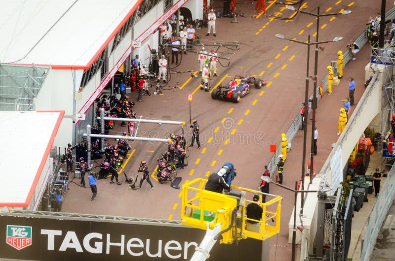 Μονακό GP το 2012 στοκ εικόνα