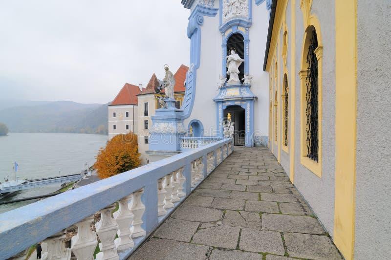 μοναστήρι αριθ. 5 duernstein στοκ εικόνες