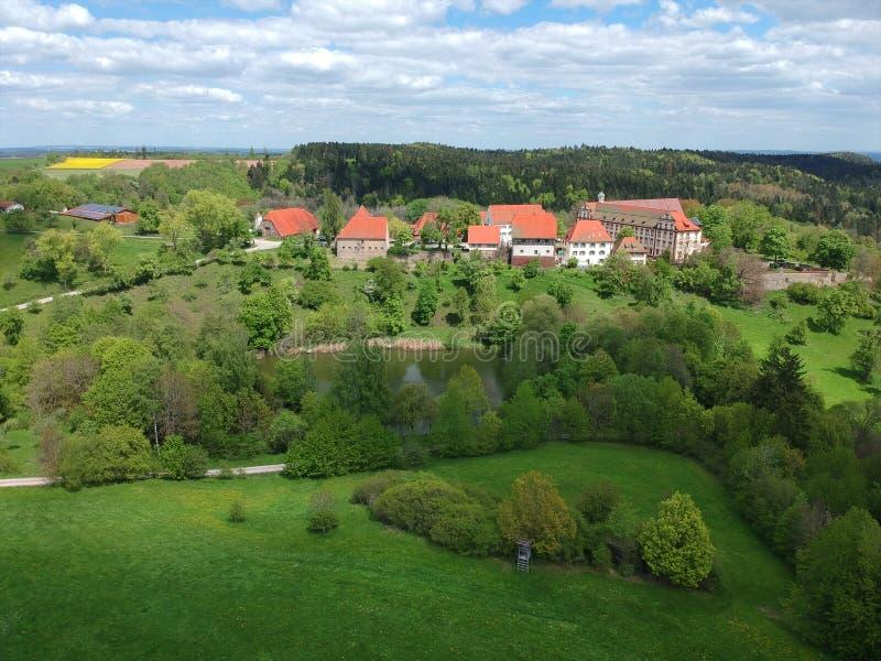 Μοναστήρι μονών Kirchberg που βρίσκεται σε Sulz Γερμανία στοκ φωτογραφίες