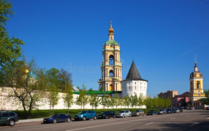 μοναστήρι Μόσχα novospassky Ρωσία στοκ φωτογραφία με δικαίωμα ελεύθερης χρήσης