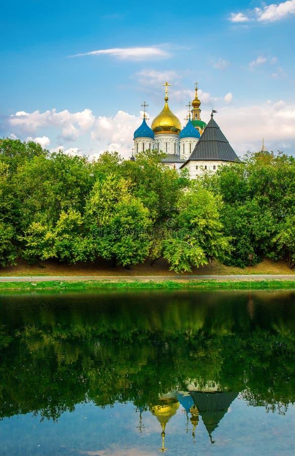 μοναστήρι Μόσχα novospassky Ρωσία στοκ εικόνα με δικαίωμα ελεύθερης χρήσης