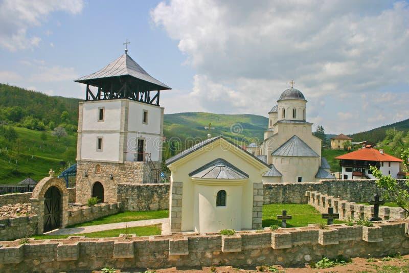 μοναστήρι ορθόδοξο στοκ φωτογραφία