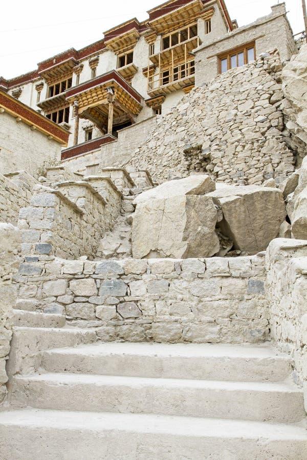 Μοναστήρι παλατιών Shey σε Ladakh, Ινδία στοκ φωτογραφία με δικαίωμα ελεύθερης χρήσης