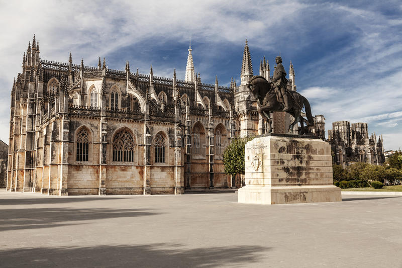 μοναστήρι Πορτογαλία batalha στοκ φωτογραφίες