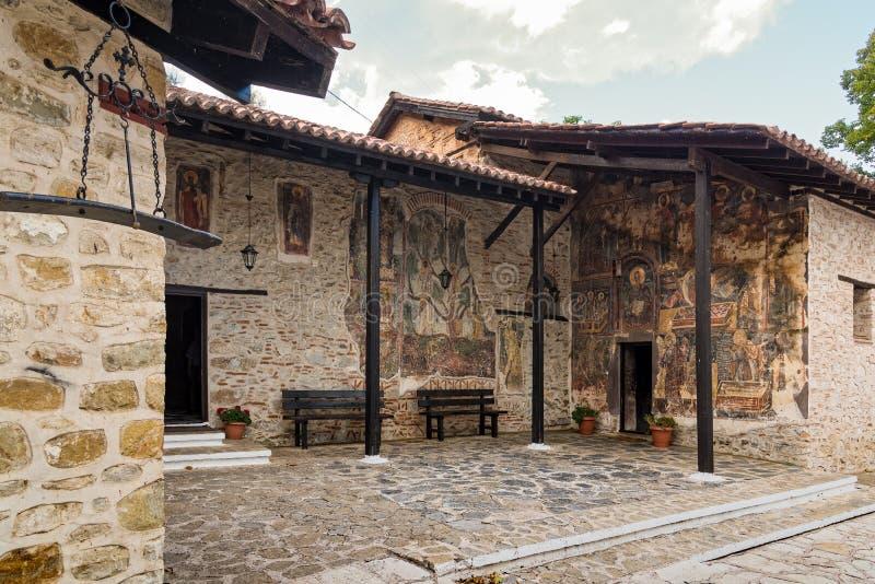 Μοναστήρι στην Ελλάδα στοκ φωτογραφία