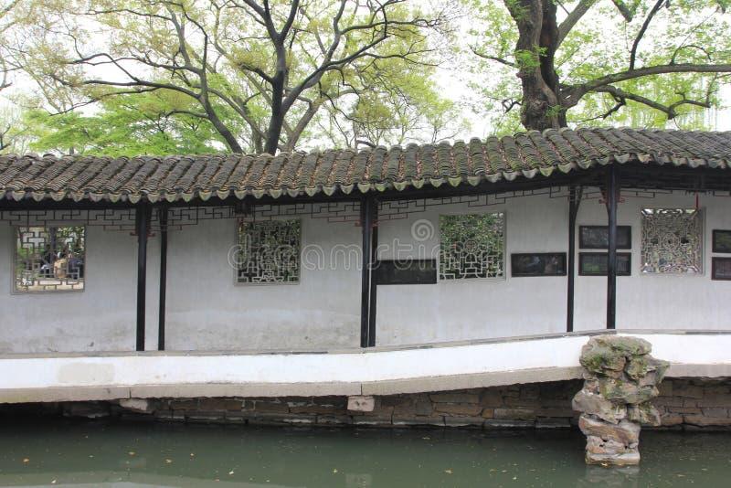 Μοναστήρι στον κήπο Zhuozheng, Suzhou Κίνα στοκ εικόνες
