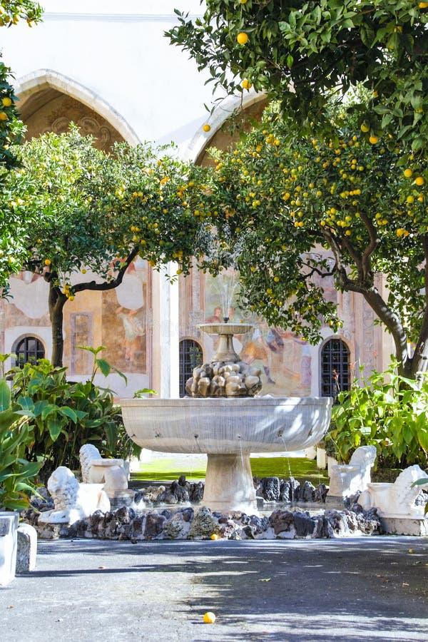 Μοναστήρι της Chiara Santa στοκ φωτογραφία με δικαίωμα ελεύθερης χρήσης
