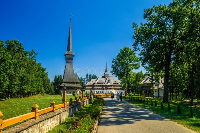 Μοναστήρι της Peri από Sapanta, Ρουμανία στοκ εικόνα