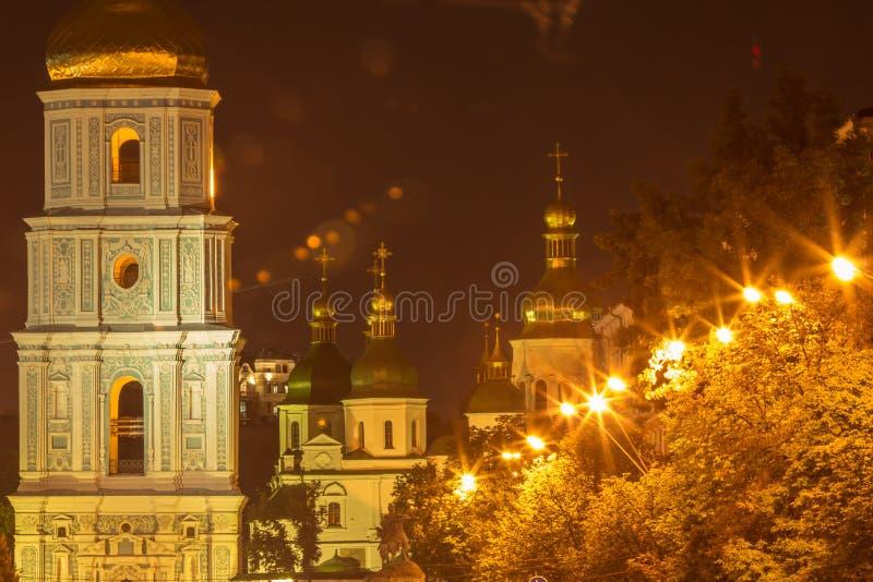 Μοναστήρι του Κίεβου Sofia στοκ εικόνες