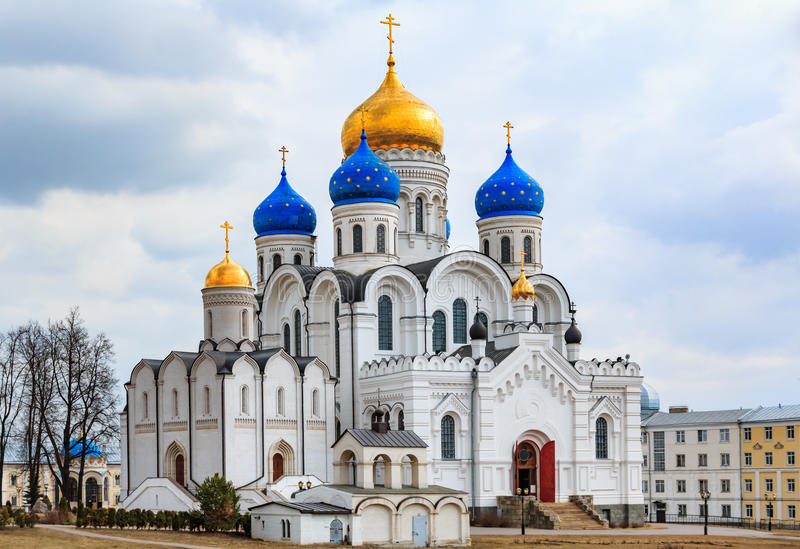 Μοναστήρι του Nicholas Ugreshsky στοκ εικόνα με δικαίωμα ελεύθερης χρήσης