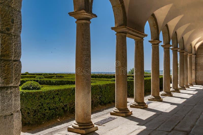 Μοναστήρι του SAN Lorenzo de EL Escorial Μαδρίτη, Ισπανία στοκ εικόνες