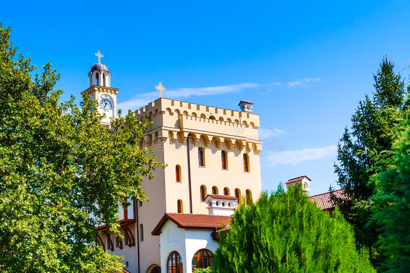 Μοναστήρι του ST George σε Hadjidimovo, Βουλγαρία στοκ εικόνα