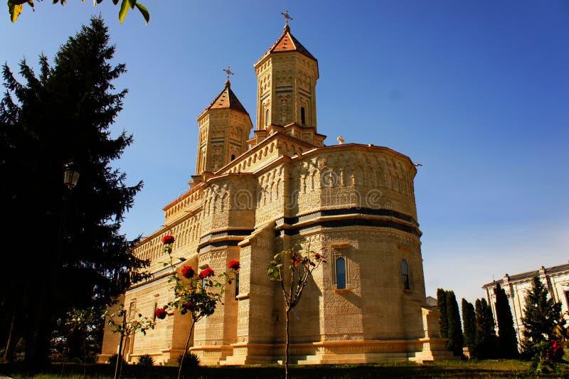 Μοναστήρι τριών ιεραρχών στοκ εικόνες