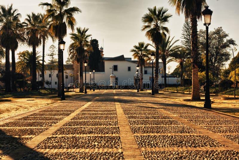Μοναστήρι των κήπων Λα Rabida στοκ φωτογραφίες με δικαίωμα ελεύθερης χρήσης