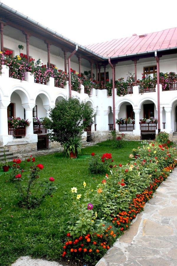 μοναστήρι agapia στοκ φωτογραφίες
