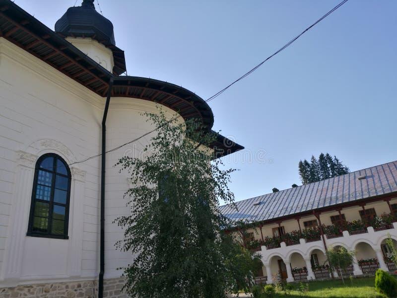 Μοναστήρι Agapia στοκ εικόνες