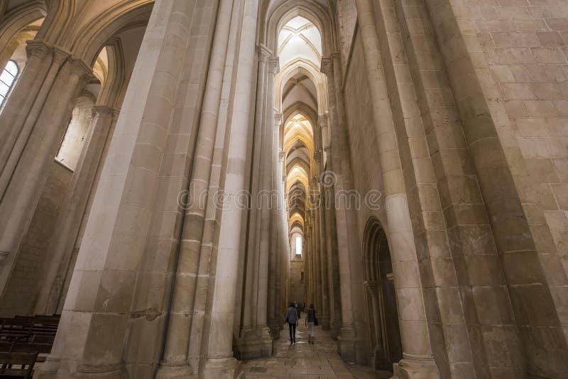 Μοναστήρι Alcobaca, Alcobaca, Πορτογαλία στοκ εικόνες με δικαίωμα ελεύθερης χρήσης