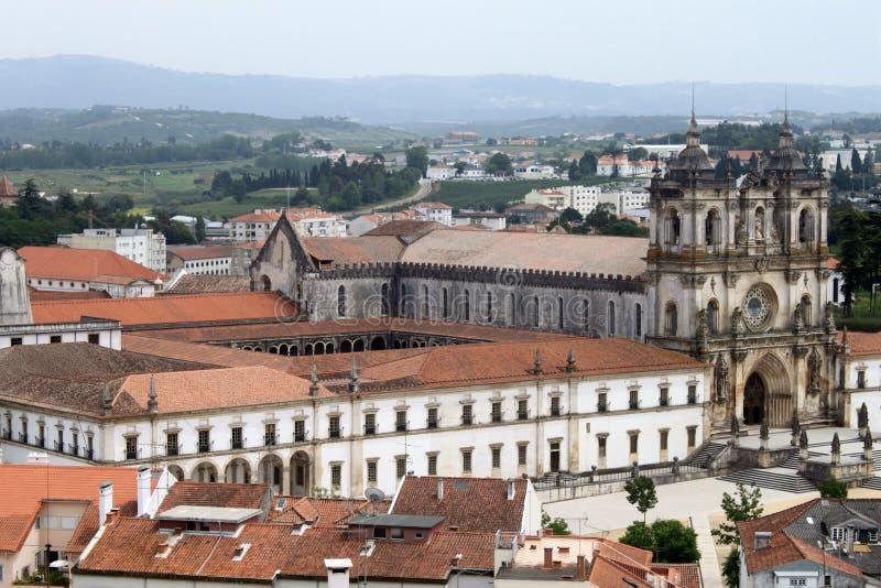 μοναστήρι alcobaca στοκ εικόνες