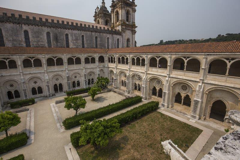 Μοναστήρι Alcobaca, Alcobaca, Πορτογαλία στοκ φωτογραφία με δικαίωμα ελεύθερης χρήσης