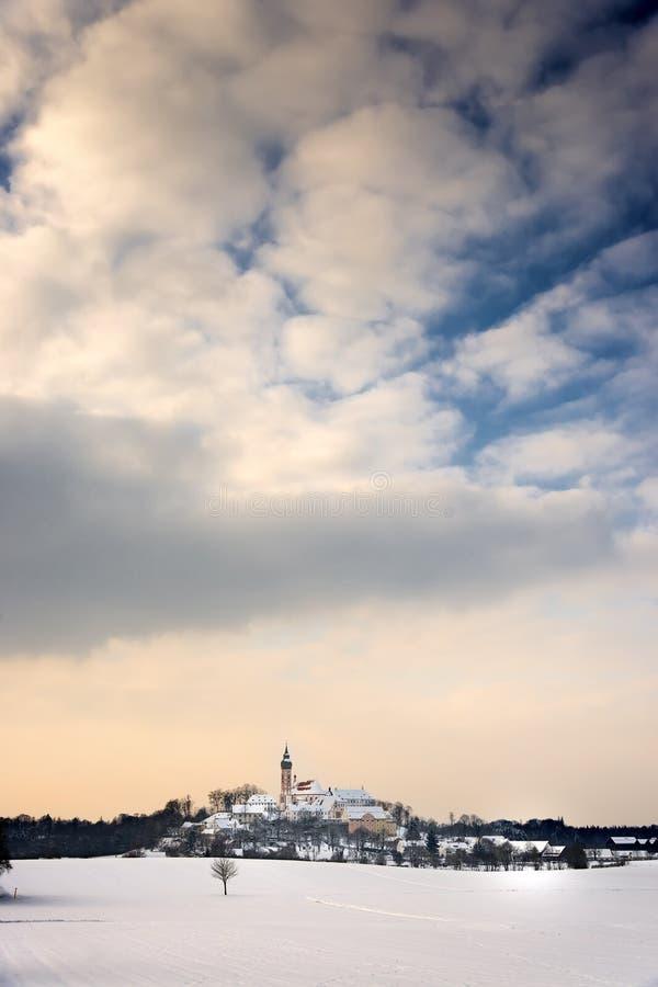 Μοναστήρι Andechs στοκ εικόνες
