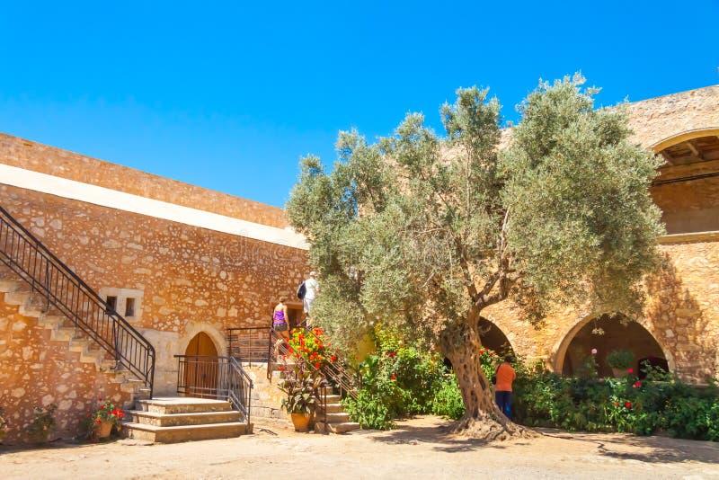 Μοναστήρι Arkadi στοκ φωτογραφίες