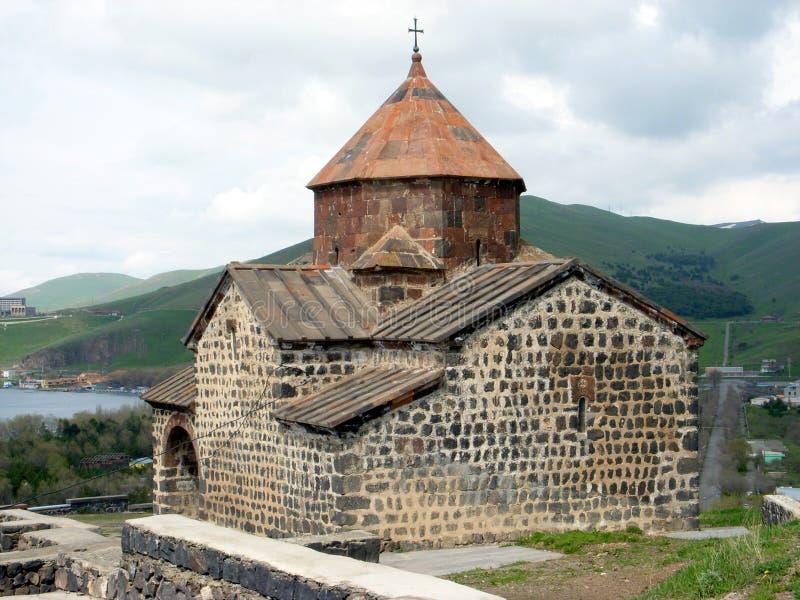 μοναστήρι astvatsatsin της Αρμενίας sev στοκ εικόνα