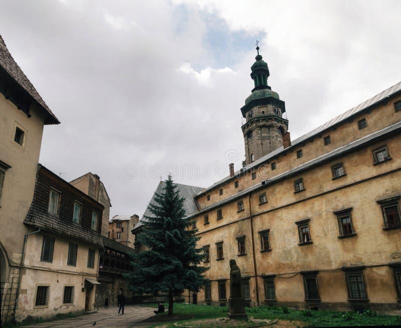 Μοναστήρι Bernardine σε Lviv, Ουκρανία στοκ εικόνα με δικαίωμα ελεύθερης χρήσης