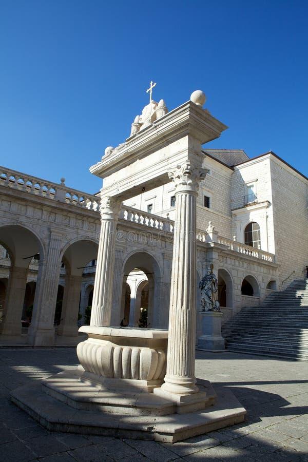 μοναστήρι cassino monte στοκ φωτογραφία με δικαίωμα ελεύθερης χρήσης