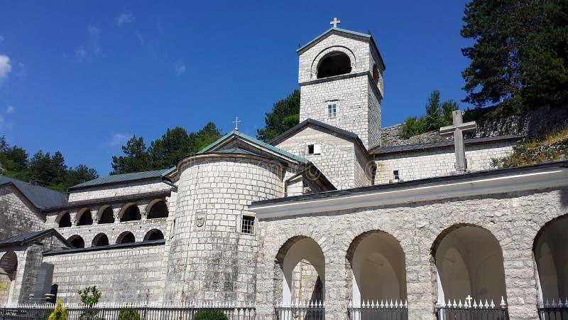 Μοναστήρι Cetinje, Μαυροβούνιο στοκ εικόνα με δικαίωμα ελεύθερης χρήσης