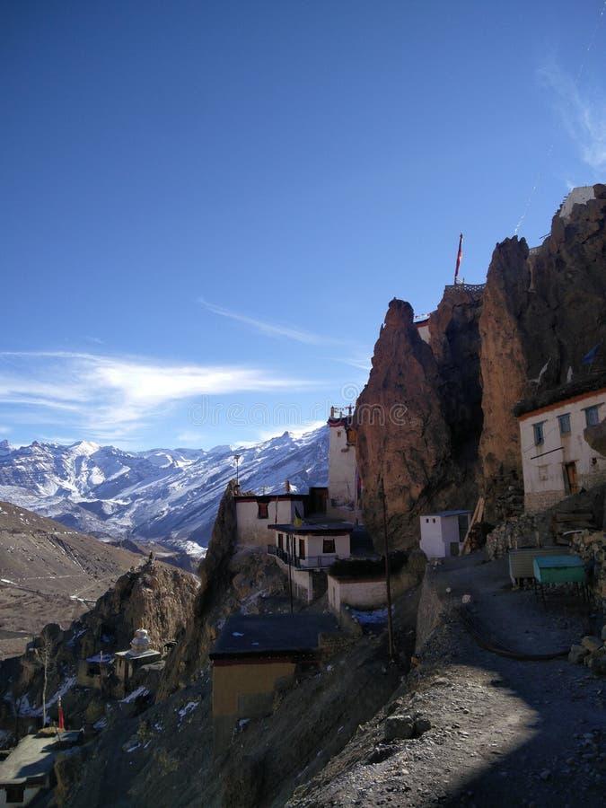 Μοναστήρι Dankar στοκ φωτογραφία με δικαίωμα ελεύθερης χρήσης