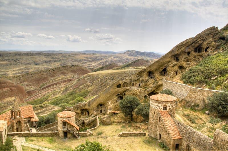 μοναστήρι gareja του Δαβίδ στοκ εικόνες