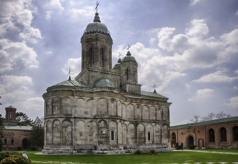 Μοναστήρι HDR Dealu στοκ φωτογραφίες