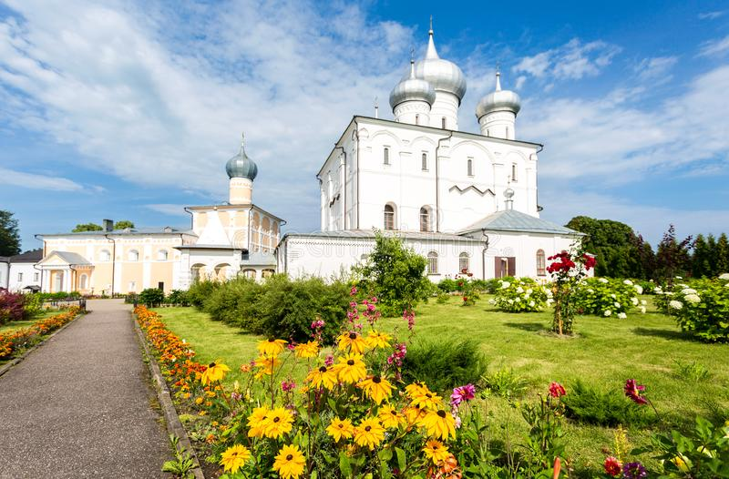 Μοναστήρι Khutyn της μεταμόρφωσης λυτρωτών ` s και του ST Varlaam στοκ φωτογραφία με δικαίωμα ελεύθερης χρήσης