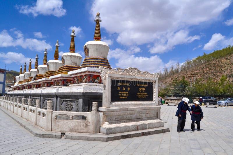 Μοναστήρι Kumbum στοκ φωτογραφία με δικαίωμα ελεύθερης χρήσης
