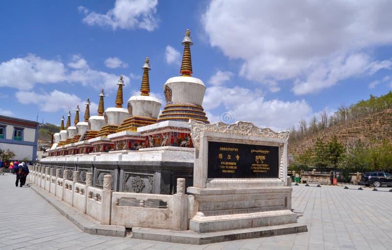 Μοναστήρι Kumbum στοκ εικόνες