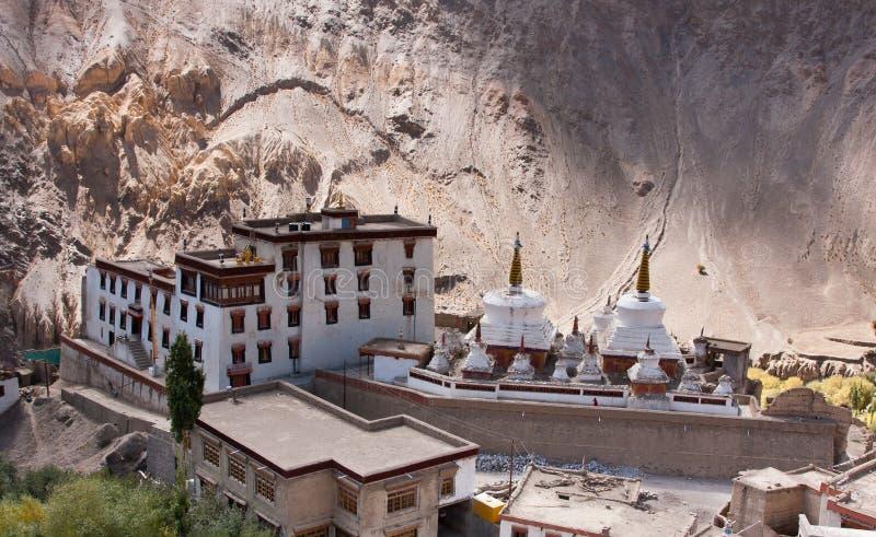 μοναστήρι lamayuru της Ινδίας ladakh στοκ εικόνες