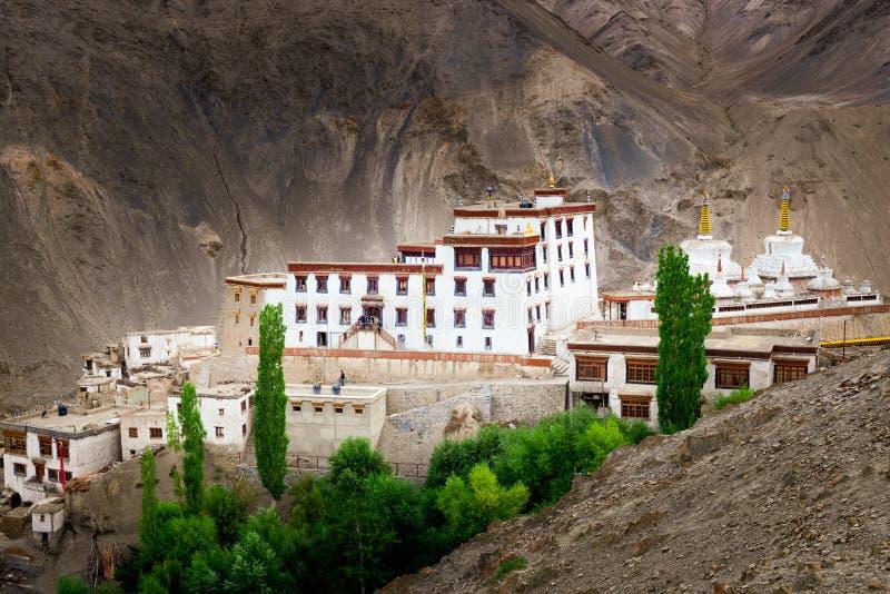 Μοναστήρι Lamayuru, Leh, Ladakh, Ινδία στοκ εικόνα με δικαίωμα ελεύθερης χρήσης