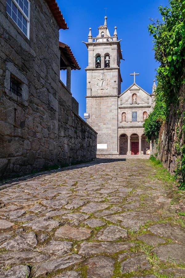 Μοναστήρι Landim Vila Nova de Famalicao, το οποίο λειτουργεί ως ξενοδοχείο στα παλαιά δωμάτια μοναχών στοκ φωτογραφίες με δικαίωμα ελεύθερης χρήσης