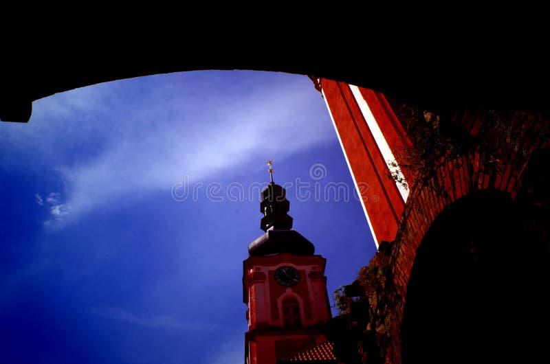 Μοναστήρι Marianska Tynice, Δημοκρατία της Τσεχίας στοκ εικόνες