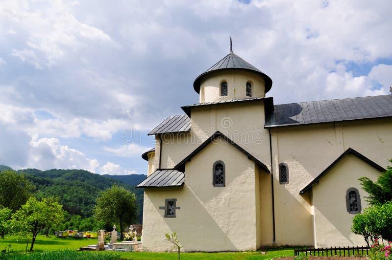 Μοναστήρι Moraca, Kolasin, Μαυροβούνιο στοκ εικόνες με δικαίωμα ελεύθερης χρήσης