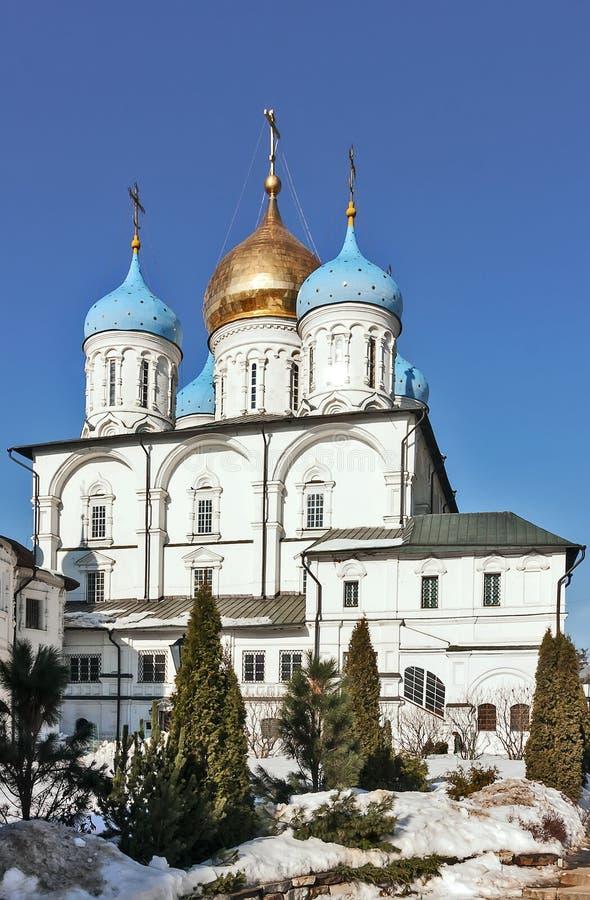Μοναστήρι Novospassky, Μόσχα, Ρωσία στοκ φωτογραφία με δικαίωμα ελεύθερης χρήσης