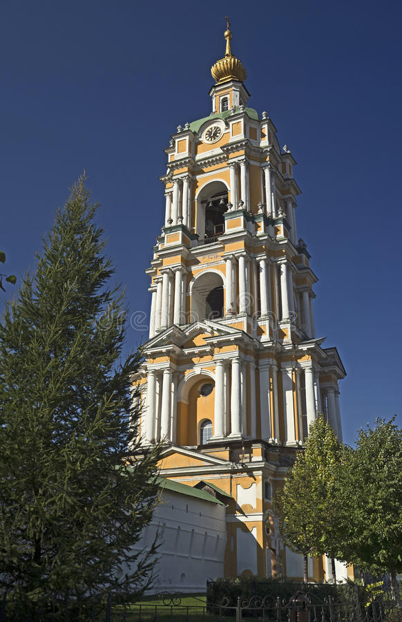 μοναστήρι novospassky Μόσχα στοκ φωτογραφία με δικαίωμα ελεύθερης χρήσης