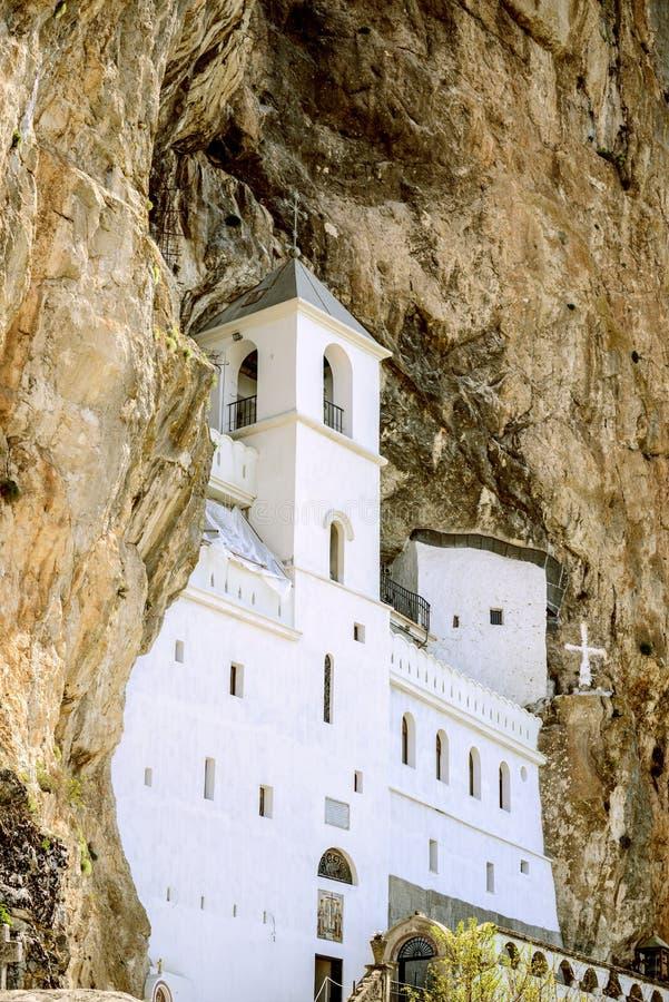 Μοναστήρι Ostrog στο Μαυροβούνιο στοκ εικόνες