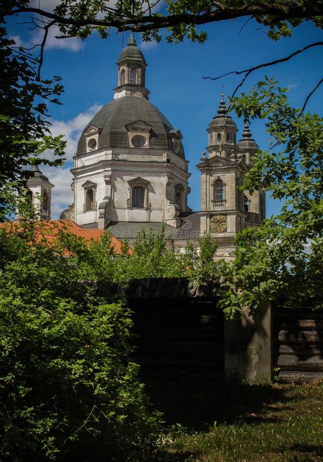 Μοναστήρι Pazaislis στοκ εικόνα με δικαίωμα ελεύθερης χρήσης