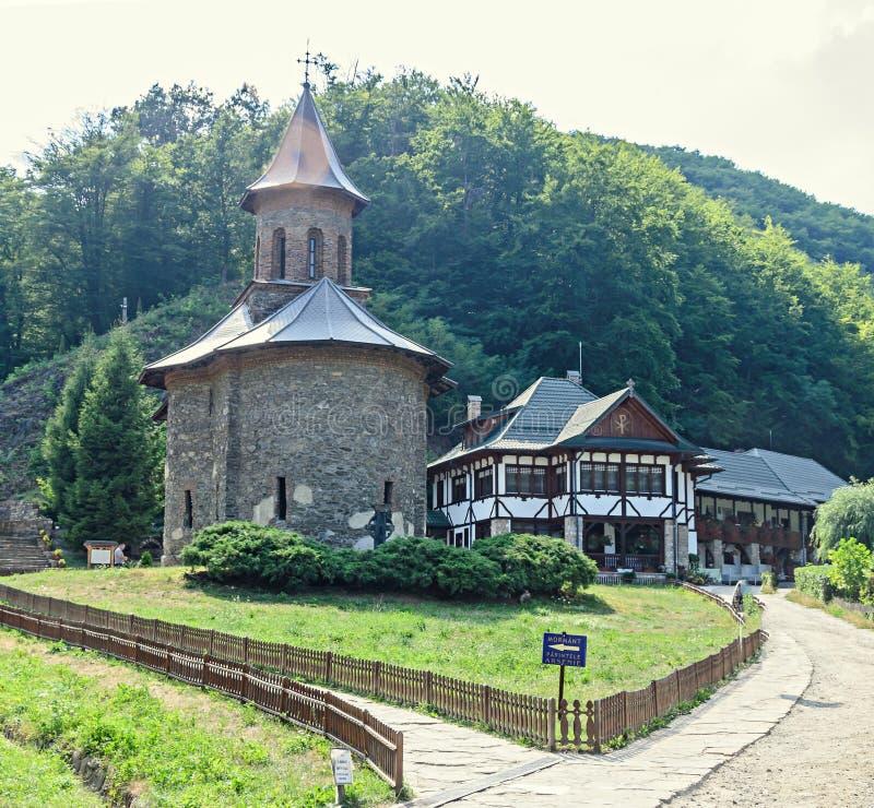 Μοναστήρι Prislop από τη κομητεία Hunedoara, τη Ρουμανία και Arsenie Boca στοκ εικόνες με δικαίωμα ελεύθερης χρήσης